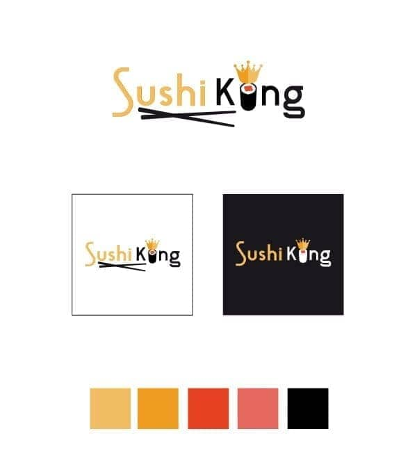 sushi King studio logo