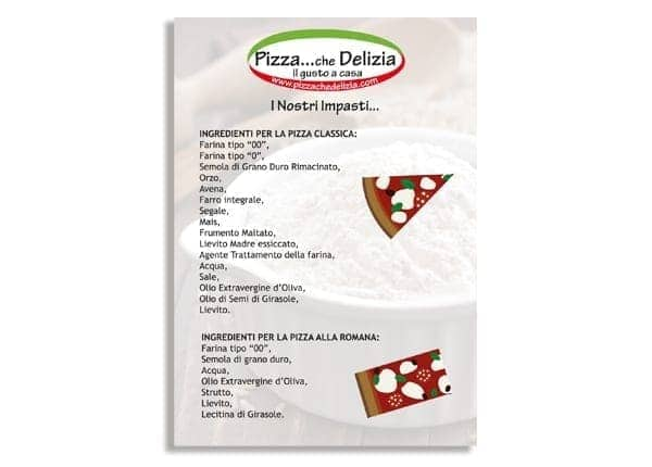 foglio impasti pizza