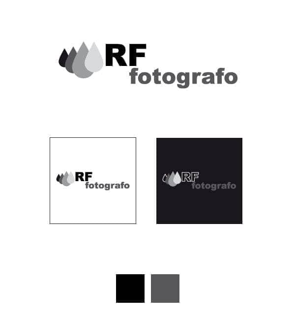 rf fotografo logo