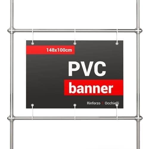 banner pvc 148x100 cm