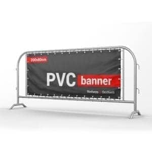 banner pvc 200x80cm