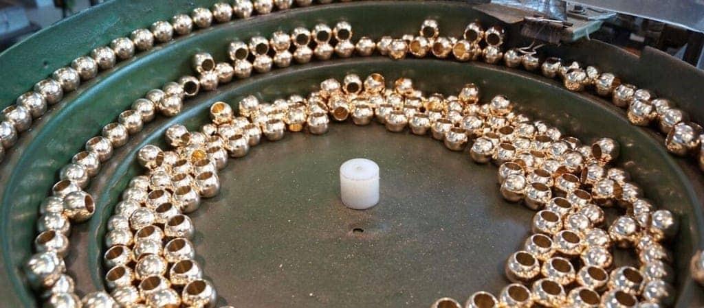 sfere diamantate per valvole