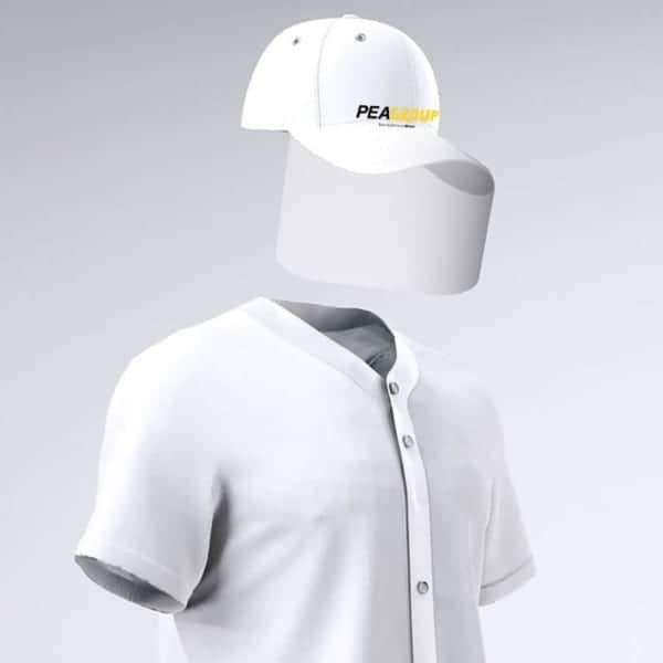 visiera cappello pea